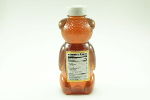 Florida Palmetto Honey - 24 oz - Back