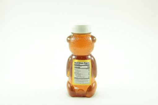 Florida Palmetto Honey - 12 oz - Back